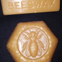 Just beeswax